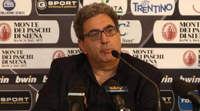 Il dirigente del Palermo Giorgio Perinetti