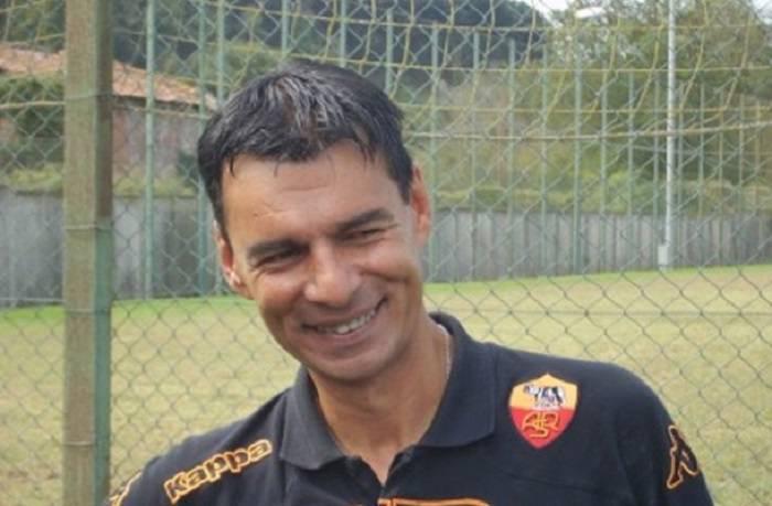 Il tecnico degli Allievi nazionali Sandro Tovalieri