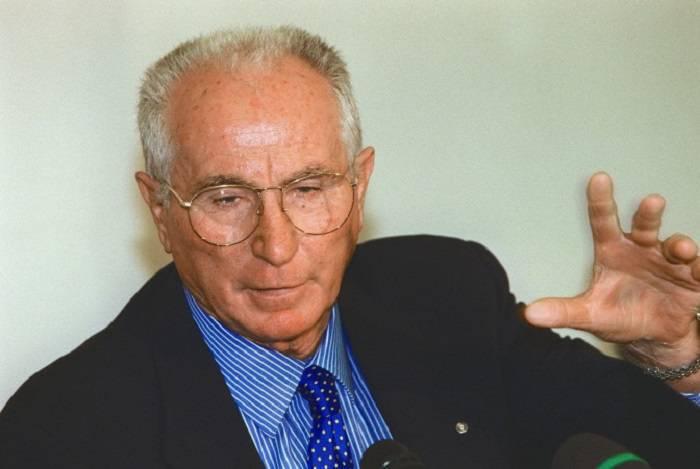 L'ex ct della Nazionale Italiana Azeglio Vicini