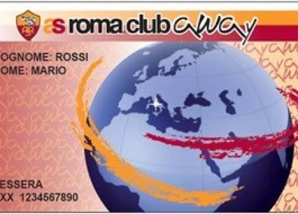As Roma Club Away