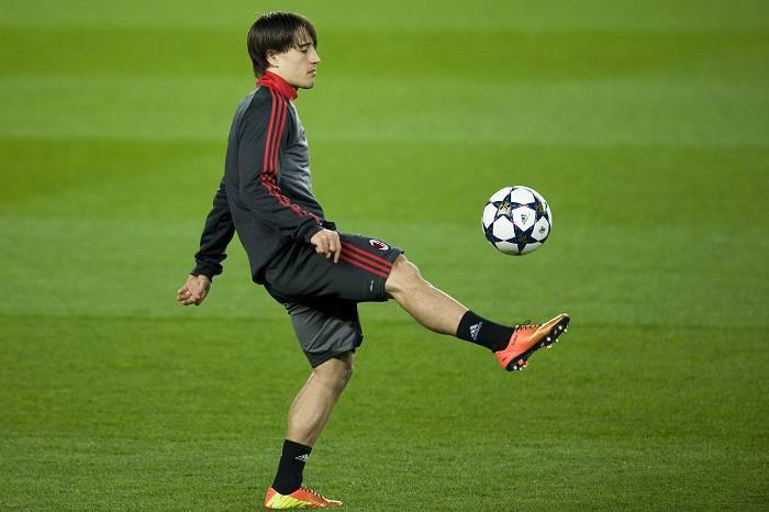 AC Milan Training & Press Conference - UEFA Champions League