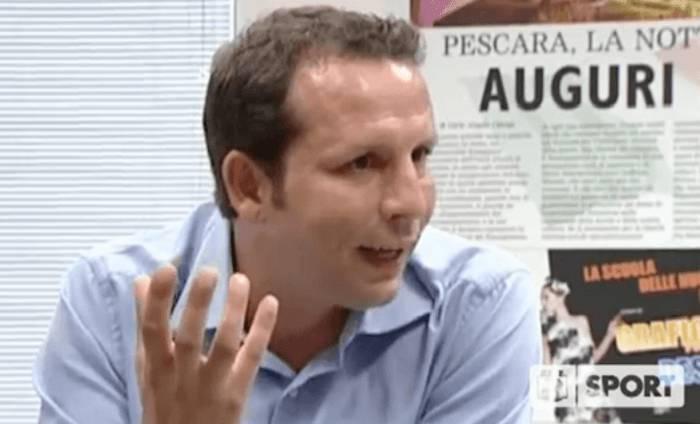 Il ds del Pescara Daniele Delli Carri
