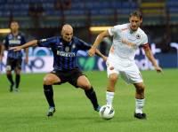 Totti contro l'Inter
