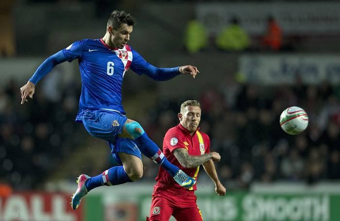 Lovren con la maglia della nazionale croata (Getty Images)