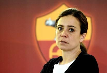 L'ex presidente della Roma, Rosella Sensi (Getty Images)