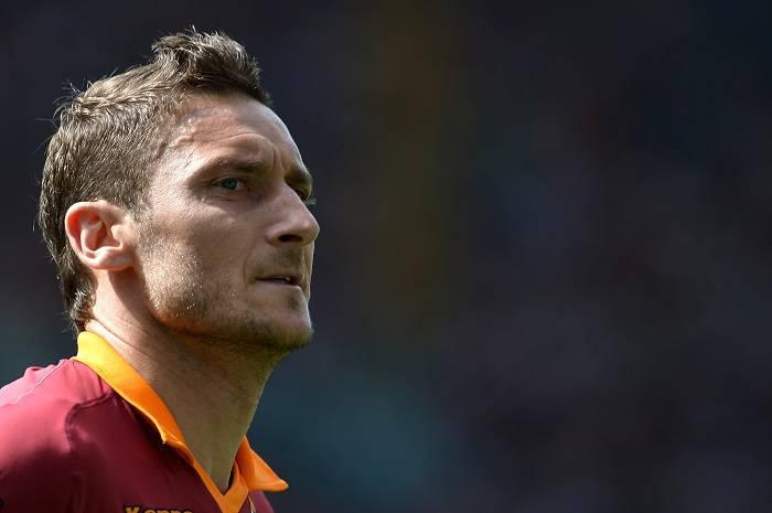 Il capitano giallorosso Francesco Totti (Getty Images)