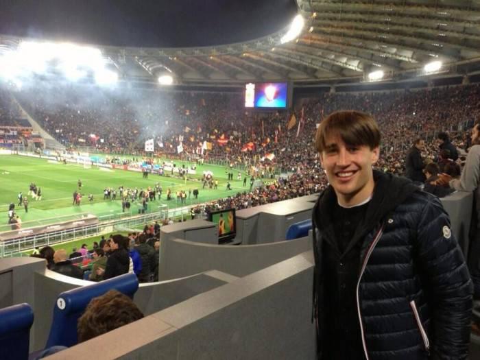 Bojan ieri all'Olimpico