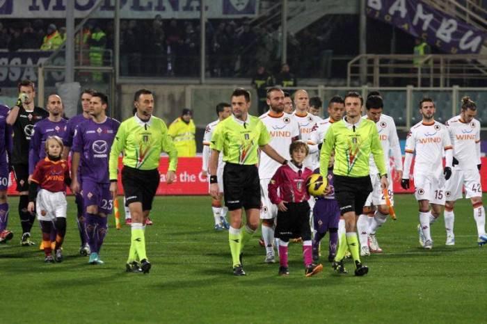 Fiorentina e Roma entrano in campo