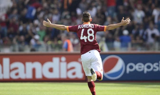 Florenzi con la maglia numero 48