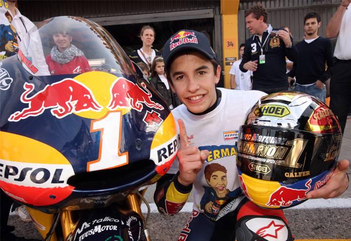 Marquez e la sua Honda