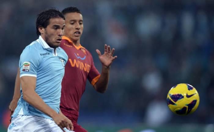 Marquinhos e Gonzalez nel derby