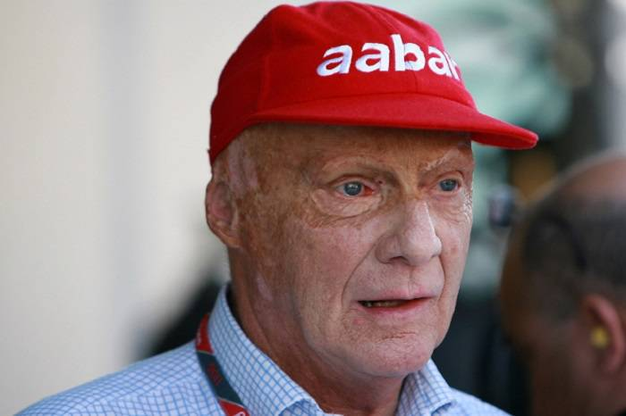L'ex pilota austriaco Niki Lauda