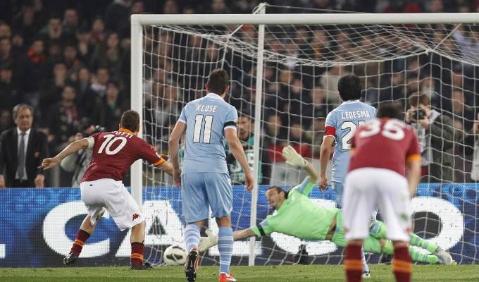Il rigore vincente di Totti