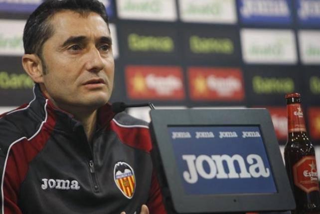 Il tecnico Valverde del Valencia