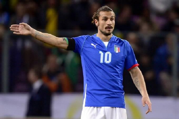 Pablo Daniel Osvaldo con la maglia della Nazionale (Getty Images)