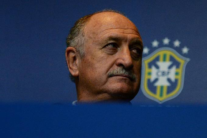 Il ct del Brasile Luis Felipe Scolari (Getty Images)