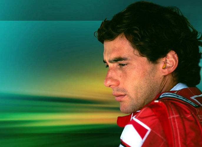 Il pilota brasiliano Ayrton Senna scomparso nel 1994