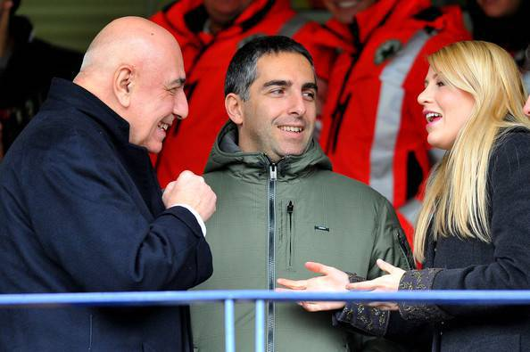 Barbara Berlusconi con Galliani