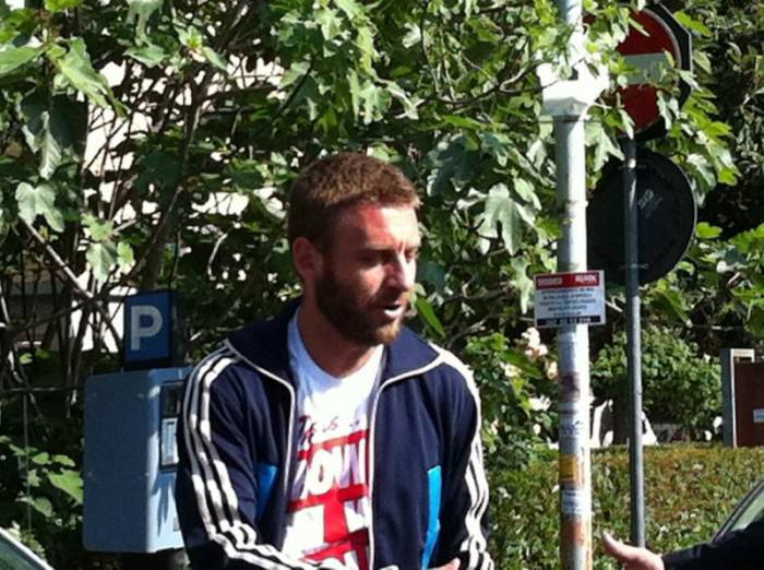De Rossi al Futbol Club oggi pomeriggio