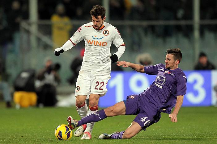 Destro in Fiorentina-Roma