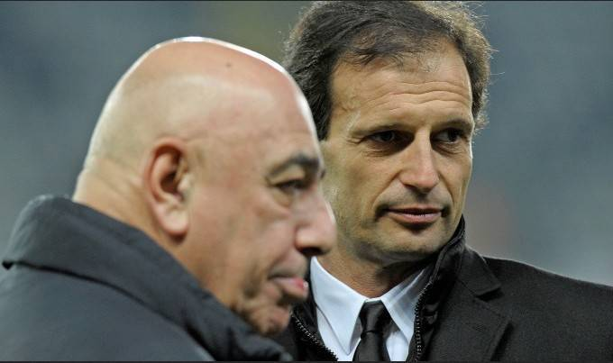 Galliani e Allegri