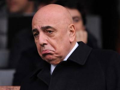 L'amministratore delegato del Milan Adriano Galliani
