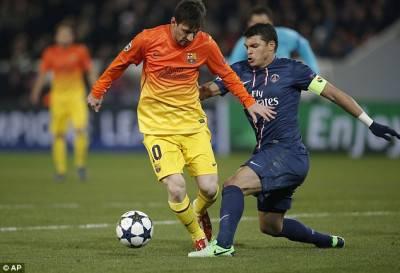 Messi e Thiago Silva