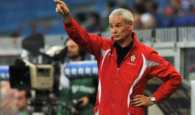 Claudio Ranieri sulla panchina del Monaco