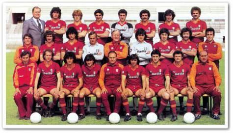 La rosa della Roma del 1983