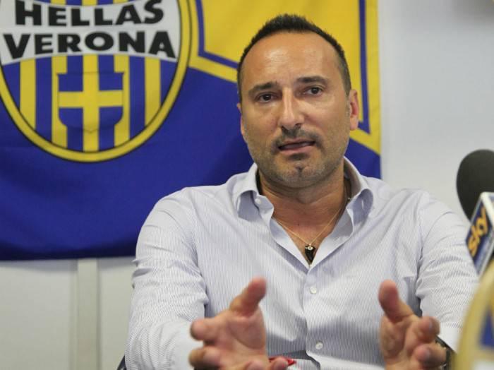Maurizio Setti, presidente del Verona