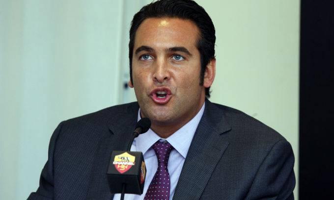 Il CEO della Roma, Italo Zanzi