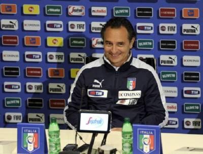 Il ct azzurro Cesare Prandelli