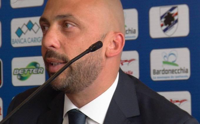 L'ex ds della Sampdoria Pasquale Sensibile