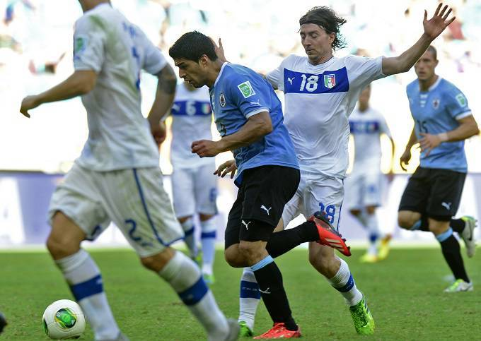 Un'immagine di Uruguay - Italia (Getty Images)