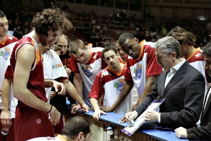 L'Acea Roma con coach Calvani