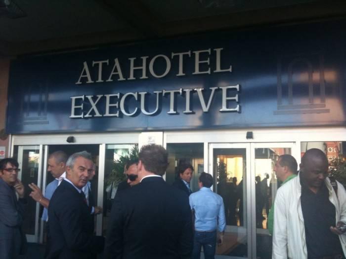 L'Ata Hotel Executive, centro delle trattative di mercato