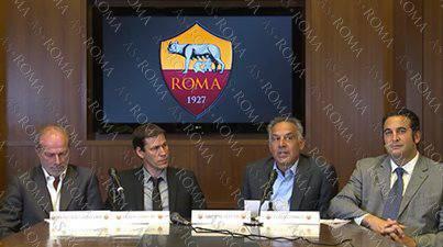 Conferenza di presentazione del nuovo tecnico Rudi Garcia