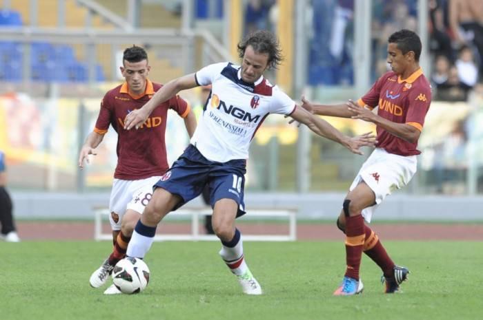 Alberto Gilardino contro la Roma