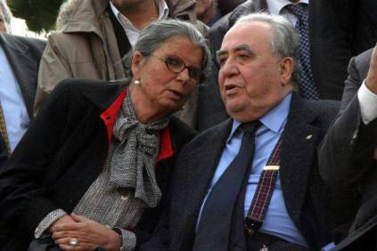 Maria Sensi con il marito