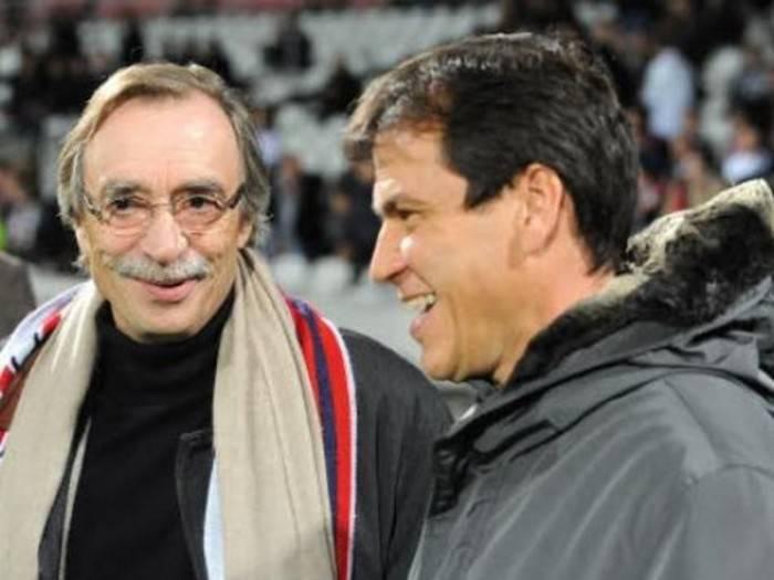 Michel Seydoux e Rudi Garcia