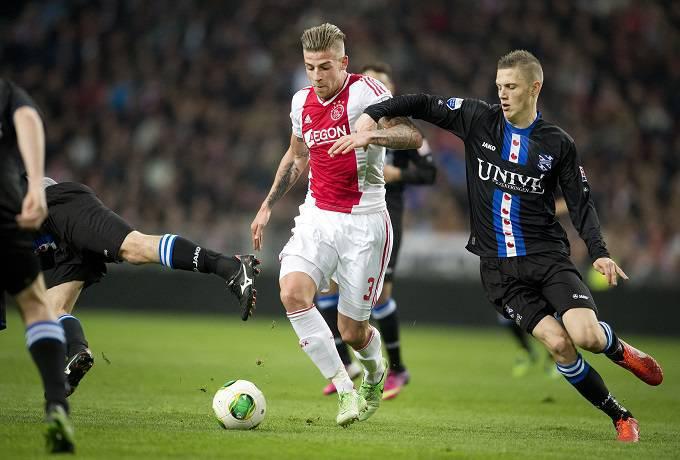 Il centrale dell'Ajax Toby Alderweireld (Getty Images)