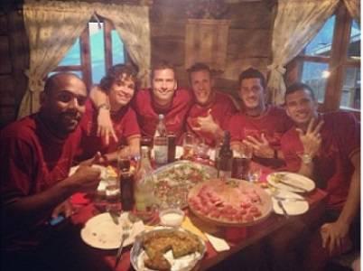La foto pubblicata da Castan su Instagram