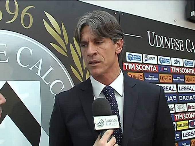 Il ds dell'Udinese Cristiano Giaretta