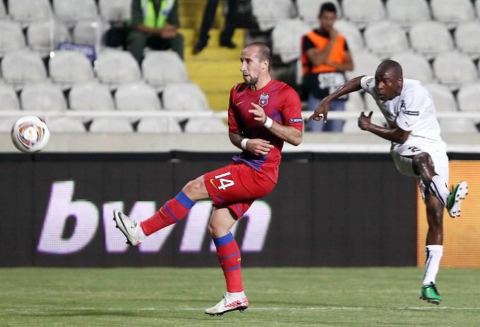Il difensore esterno dello Steaua Bucarest Iasmin Latovlevici (Getty Images)