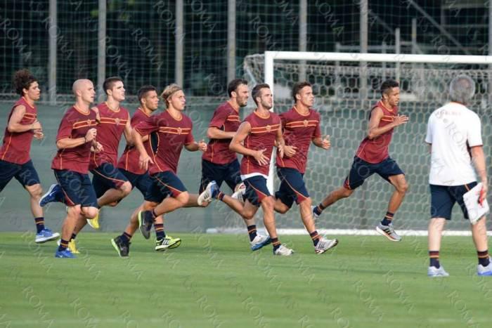 La Roma in allenamento (repertorio)