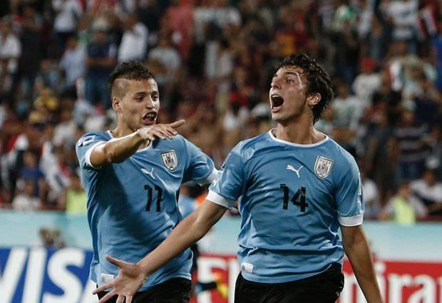 Lopez e Bueno con l'Under 20 uruguayana
