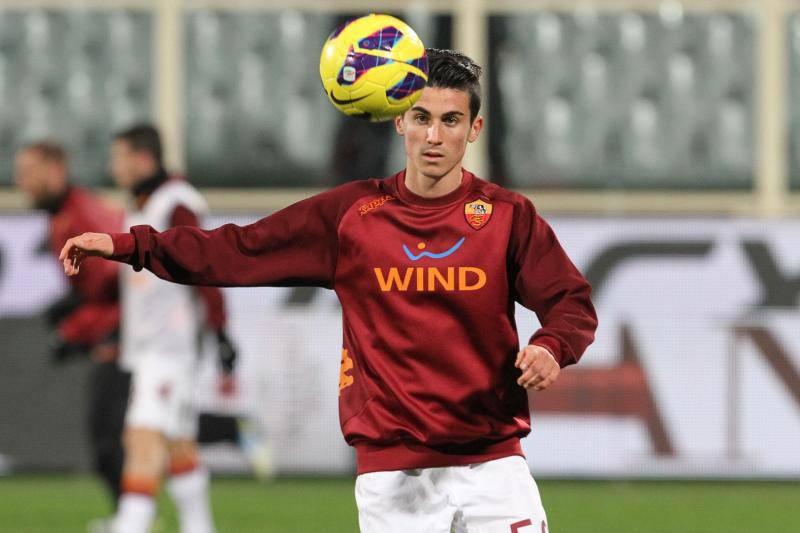 Marco Frediani a Firenze, con la prima squadra