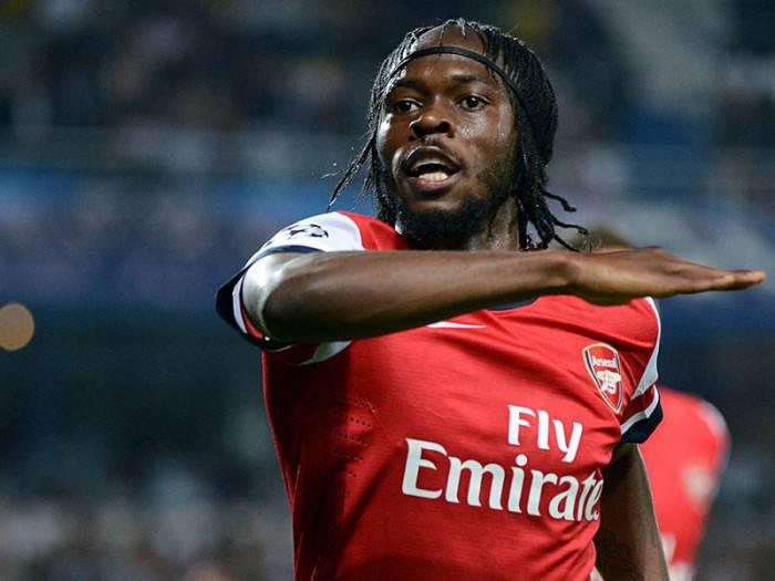 L'ivoriano Gervinho in maglia Arsenal