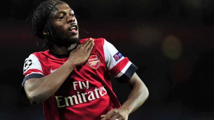 Gervinho, ivoriano dell'Arsenal