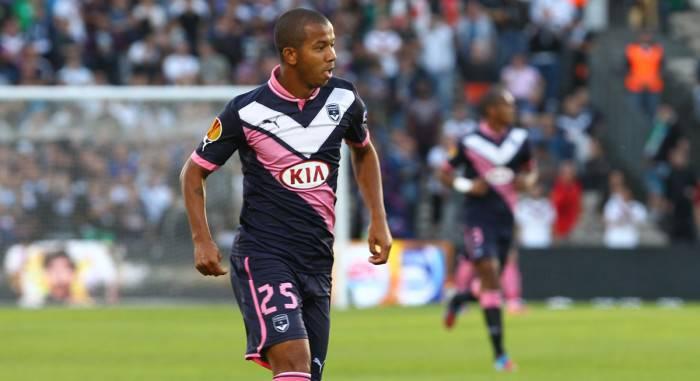 Mariano con la maglia del Bordeaux